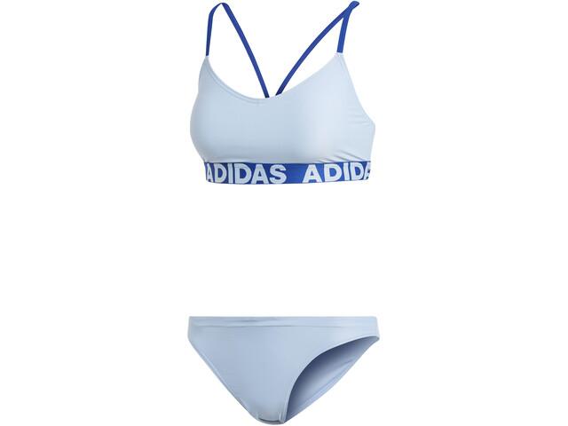 adidas BW Bikinit Naiset, glossy blue
